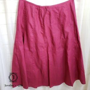Talbots 100% Irish Linen Skirt